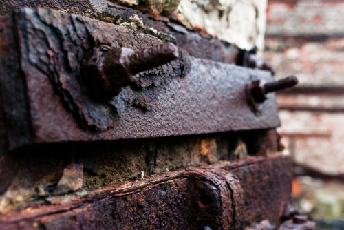texture - rust + bolts photography