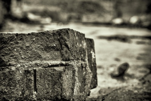 what has been - part 2 - photography of decay - part of an old limestone burner
