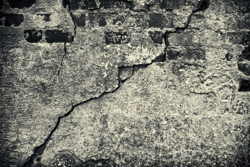 nothing but a photograph of cement and bricks
